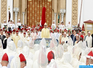 HM the King, Commander of the Faithful, Chairs in Tetouan Allegiance Ceremony