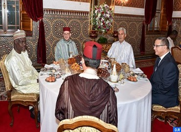 HM the King Offers Iftar in Honour of Chairperson of African Union Commission