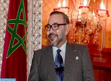 SM le Roi félicite le président lituanien à l'occasion de la fête nationale de son pays