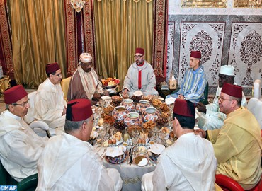 HM the King Offers Iftar in Honour of Gabonese President and Chairperson of African Union Commission