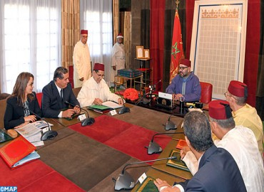 HM the King Chairs at Rabat Royal Palace Meeting on Water Issue