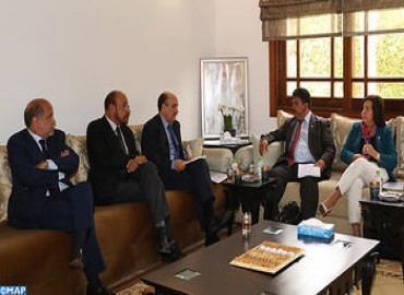 CORCAS Head Holds Talks with Delegation from PARLACEN on Sahara Issue