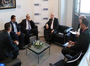 Le Président de l'Assemblée parlementaire de l'OSCE souligne la volonté de l'organisation de hisser le niveau du partenariat avec le Maroc