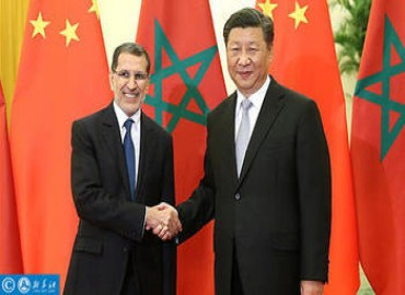 Chinese President Receives Moroccan Head of Government