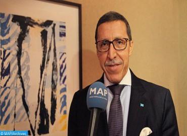El embajador Omar Hilale recibido en Bangui por el presidente de la República Centroafricana