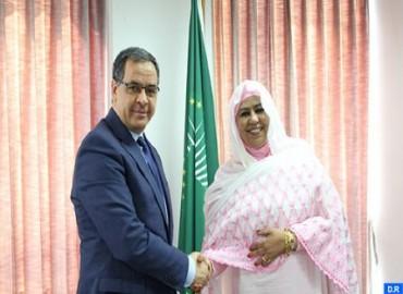 Reunión en la UA sobre los preparativos para la puesta en marcha del Observatorio Africano de las Migraciones en Rabat