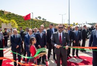 HM King Mohammed VI inaugurates Rabat-Salé urban bypass No 2, a structuring project meant to address mobility and displacement issues within the two cities