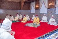 Rabat - SM el Rey Mohammed VI, Amir Al-Muminin (Comendador de los Creyentes), cumple la oración de Aíd al Fitr
